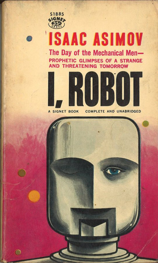 7. Isaac Asimov, IRobot, 1961.jpg